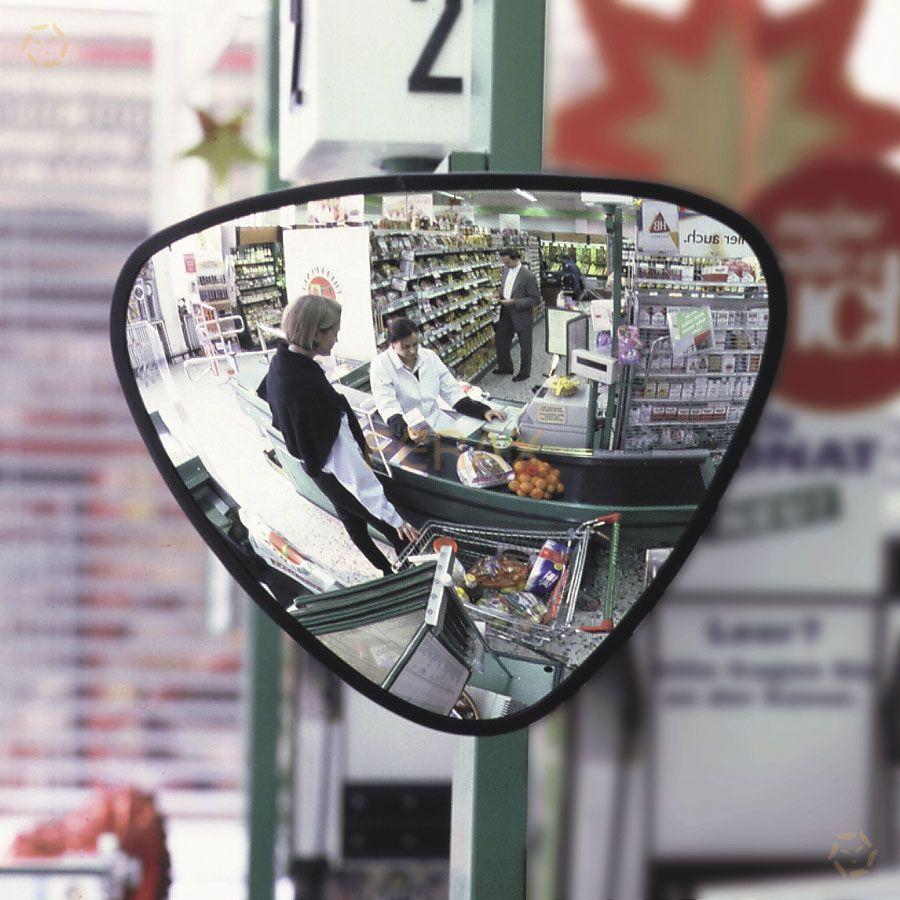 espejo de vigilancia multiusos triangular On espejos para vigilancia