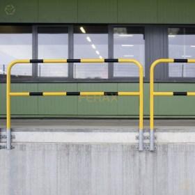 Protecciones industriales barandilla industrial for Barandas de seguridad