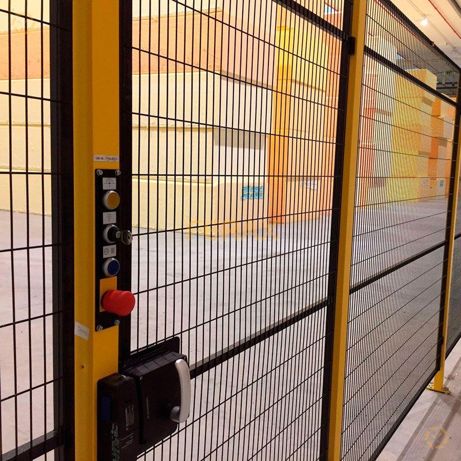 Vallado perimetral de seguridad para m quinas - Vallas de proteccion ...